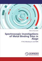 Spectroscopic Investigations of Metal Binding Sites in Alage 18278804