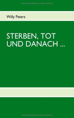 Sterben, Tot Und Danach 9783842318854