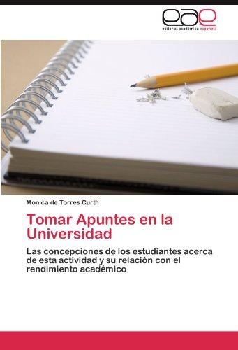 Tomar Apuntes En La Universidad 9783845485423