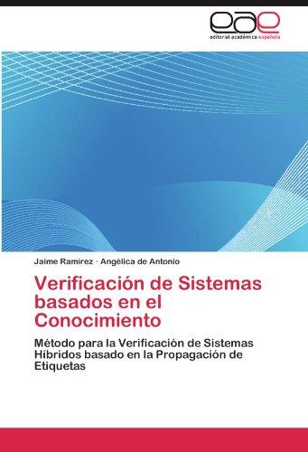 Verificaci N de Sistemas Basados En El Conocimiento 9783845498119