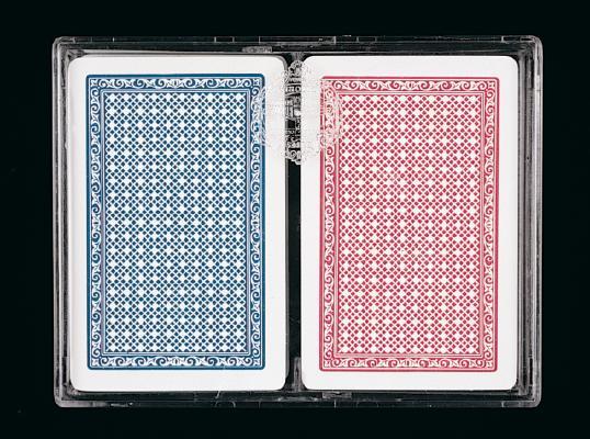 100% Plastic Velour Pack: Two Decks
