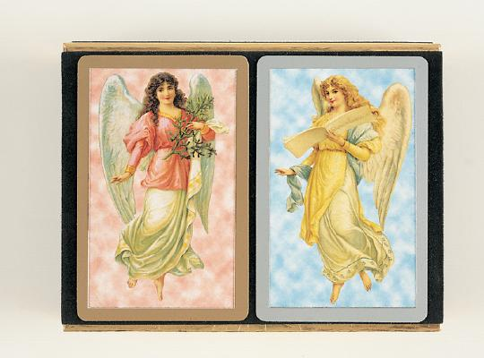 Angels Velour Jumbo Index: Two Pack