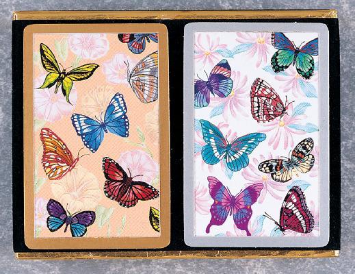 Butterflies in Flight Velour Pack: Two Decks