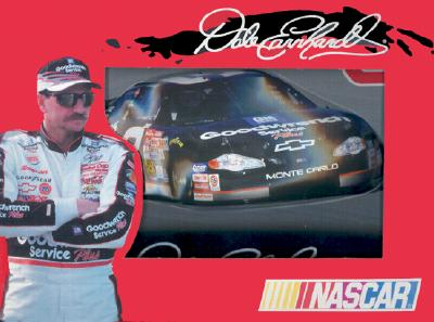 Dale Earnhardt Collectible Tin: Two Decks