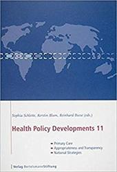 Health Policy Developments 11: Primary Care, Appropriateness and Transparency, and National Strategies 8065352