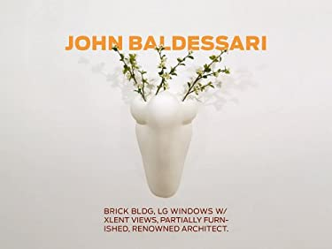 John Baldessari: Brick Bldg, Lg Windows W/Xlent Views, Partially Furnished, Renowned Architect 9783866783065