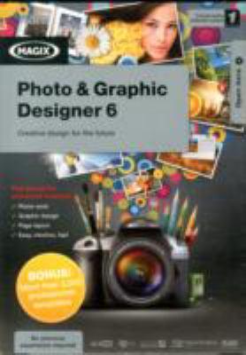 MAGIX PHOTO & GRAPHIC DESIGNER 6 CD