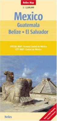 Map-Mexico/Belize/Guatemala/El 9783865740571