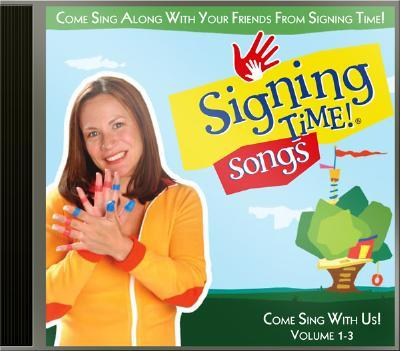 Signing Time! Songs Volume 1-3 CD