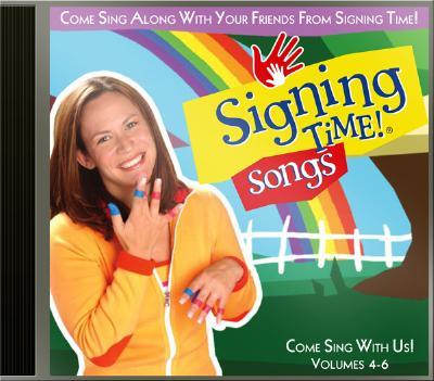 Signing Time! Songs Volume 4-6 CD
