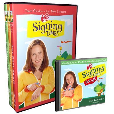 Signing Time! Volume 1-3 DVD Gift Set