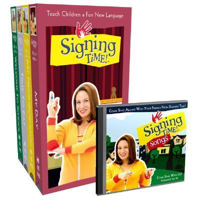 Signing Time! Volume 10-13 Vhs Gift Set