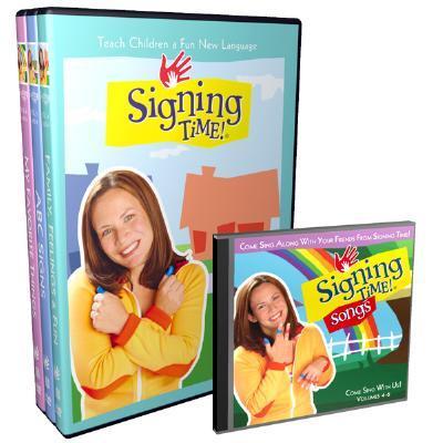 Signing Time! Volume 4-6 DVD Gift Set