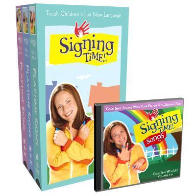 Signing Time! Volume 4-6 Vhs Gift Set