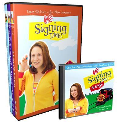 Signing Time! Volume 7-9 DVD Gift Set