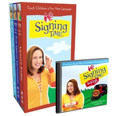 Signing Time! Volume 7-9 Vhs Gift Set