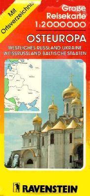 Grosse Reisekarte: 1:2 000 000, Osteuropa