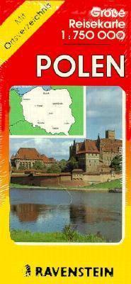 Polen 1:750 000 Mit Ortsregister : Poland 1:750 000 with Index = Pologne 1:750 000 Avec Index