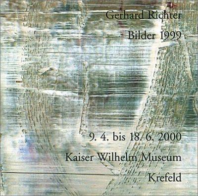 Gerhard Richter: 1999 9783883754253