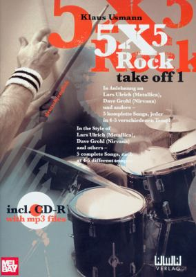 5x5 Rock: Take Off 1 [With CD] 9783899220667