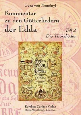 Kommentar Zu Den G Tterliedern Der Edda 9783894231347