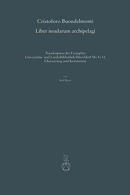 Cristoforo Buondelmonti, Liber Insularum Archipelagi 9783895005428