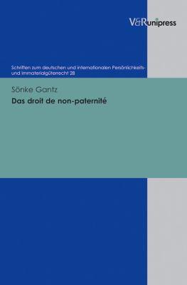 Das Droit de Non-Paternite 9783899718485