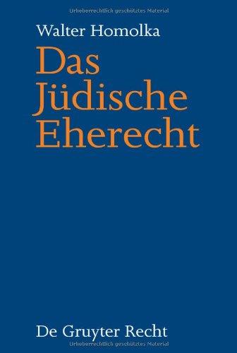 Das J Dische Eherecht 9783899494525