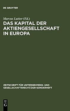 Das Kapital Der Aktiengesellschaft in Europa 9783899493085