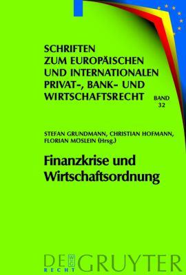 Finanzkrise Und Wirtschaftsordnung 9783899496512