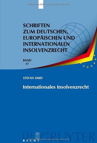 Internationales Insolvenzrecht 9783899497182