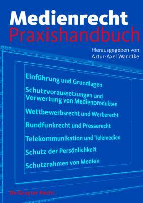 Medienrecht Praxishandbuch 9783899494228