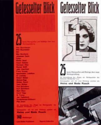 Gefesselter Blick: 25 Monografien Und Beitrage A1/4ber Neue Werbegestaltung 9783907044025
