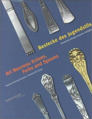 Art Nouveau Knives, Forks and Spoons