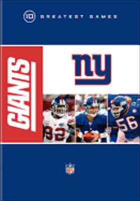 NFL: New York Giants 10 Greatest Games