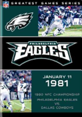 NFL Greatest Games Series: Philadelphia Eagles 1980 Nfc Championship Game