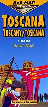 Toscana: Scale 1:400,000 9783929811094