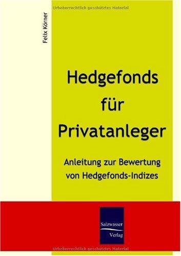 Hedgefonds F R Privatanleger 9783937686608