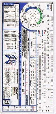 ECG Ruler, Deluxe 9783939378068