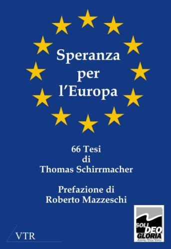 Speranza Per L'Europa 9783933372093