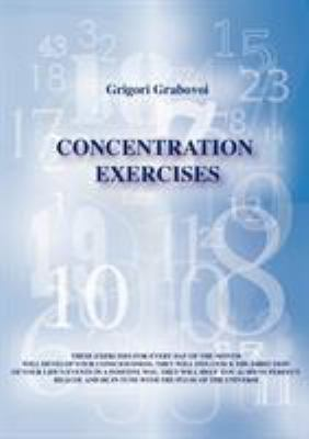 Concentration Exercises 9783943110319