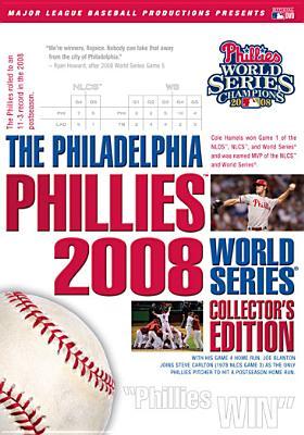 Philadelphia Phillies 2008 World Series