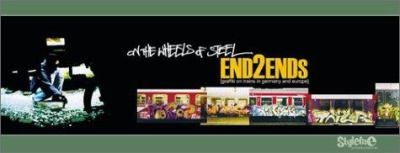 On the Wheels of Steel: End2Ends: Graffiti on Trains in Germany and Europe 9783980747813