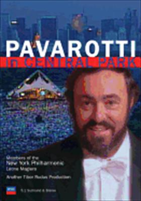 Luciano Pavarotti in Central Park