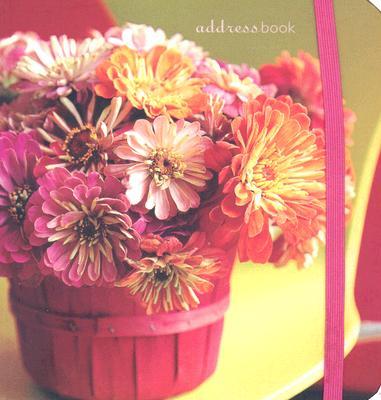 Hot Flowers Pocket Address Book