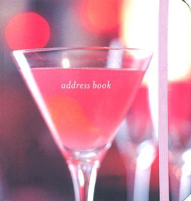 Pink Drinks Pocket Address Book