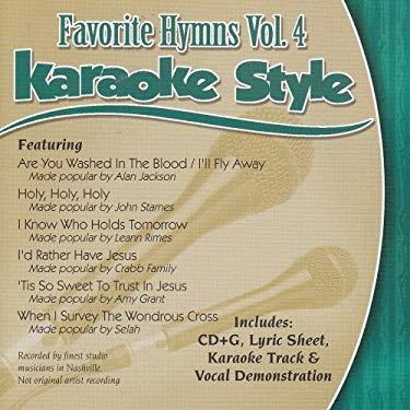Favorite Hymns Vol. 4: Karaoke Style
