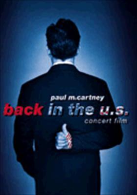 Paul McCartney: Back in the U.S. Concert Film
