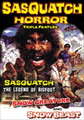 Sasquatch Horror Triple Feature