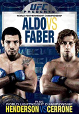 Ufc Presents Wec: Aldo vs. Faber